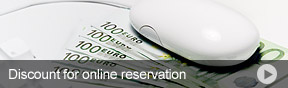 Discount for online reservation